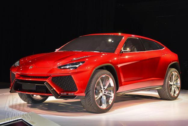 Lamborghiniurusfront